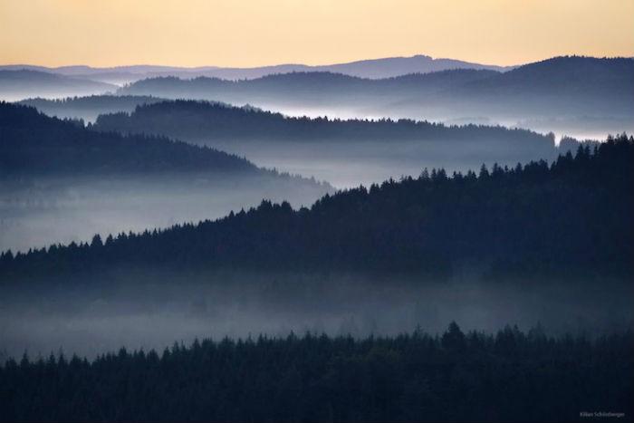 На стыке сезонов природа центральной Европы особенно прекрасна