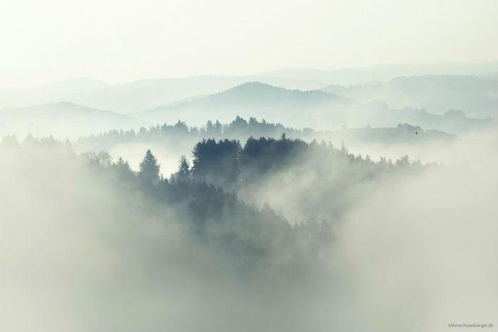 Для того чтобы запечатлеть дымку, повисшую над лесом, рекой или полем, фотографу иногда и вовсе не удаётся сомкнуть глаз