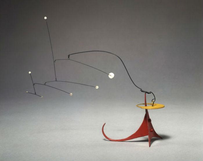 Работы Колдера-авангардиста на выставке в Лос-Анджелесе