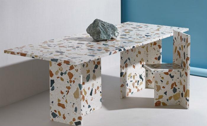 Для создания Marmoreal он использовал четыре вида мрамора, который добывают в окрестностях Вероны, на северо-востоке Италии