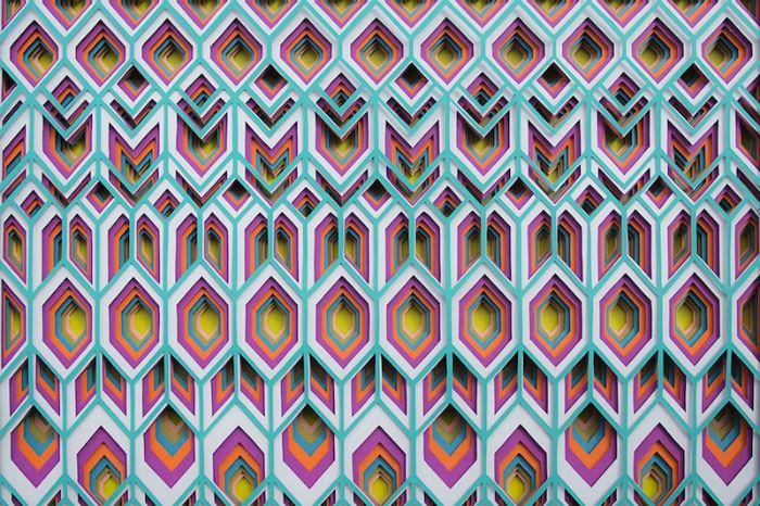 Цвет, материал, образ будущей композиции занимают важное место в творчестве художницы.