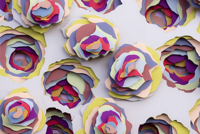 Художница способна превратить такой заурядный материал в настоящее произведение искусства.