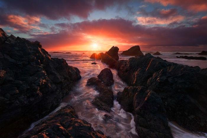 Пейзажи от американского фотографа Майлза Моргана