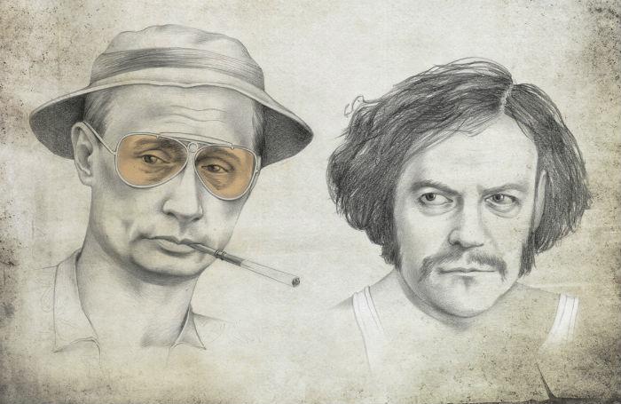 Сатирические иллюстрации Виктории Царьковой