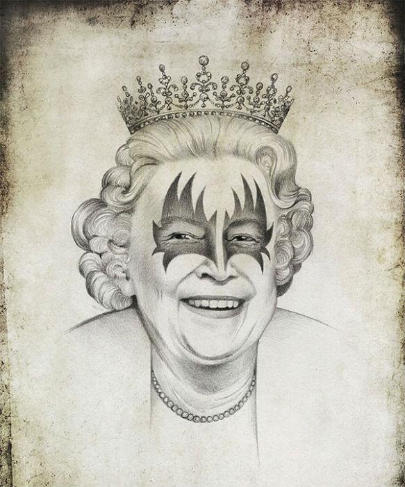 Королева Елизавета в интерпретации Виктории Царьковой
