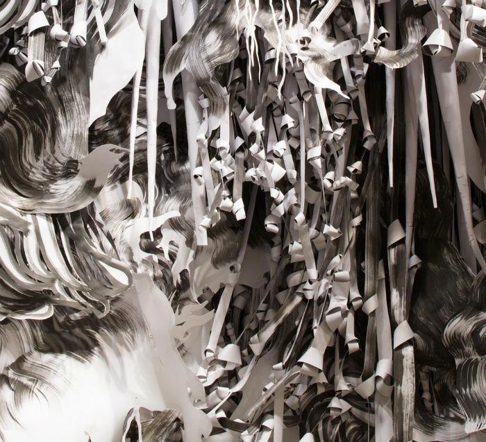 Одна их последних инсталляций Перлман «ONE» была представлена в Национальной галерее искусства при Смитсоновском институте