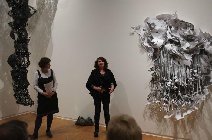 Инсталляции Перлман вдохновлена разрушительными и прекрасными явлениями природы