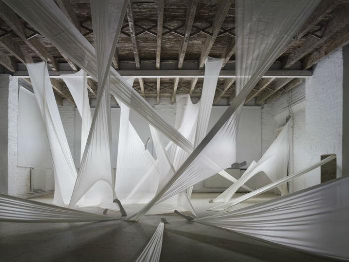 «Пенелопиада» - масштабная инсталляция, навеянная образами из греческой мифологии