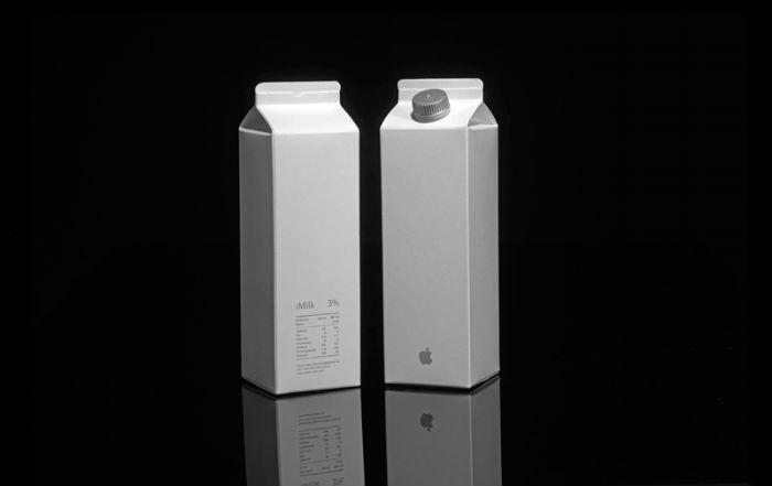 Израильский дизайнер Педди Мерги создал серию упаковок для продуктов массового потребления, используя логотипы мировых брендов