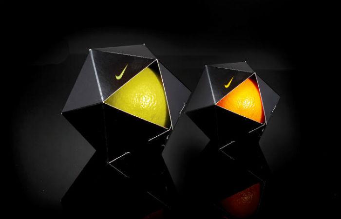 Апельсины Nike в индивидуальной упаковке от израильского дизайнера