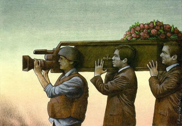 Социальные карикатуры Павла Кучинского