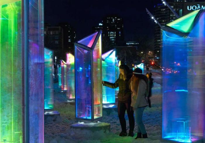 Инсталляция Prismatica стала призёром пятого ежегодного конкурса «Светотерапия»