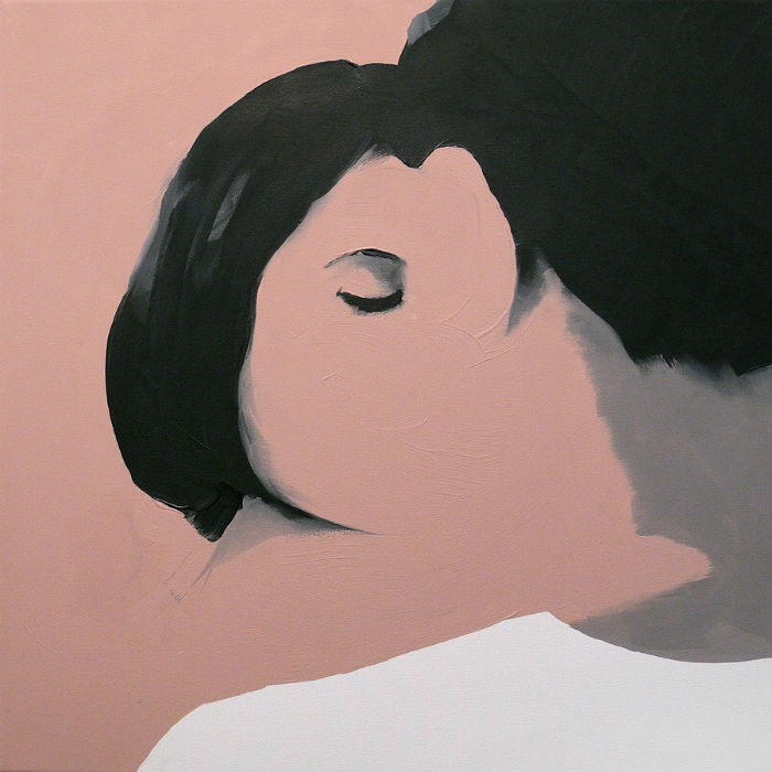 Изображая, казалось бы, обыденные ситуации, художник умело создает тягучую напряженность
