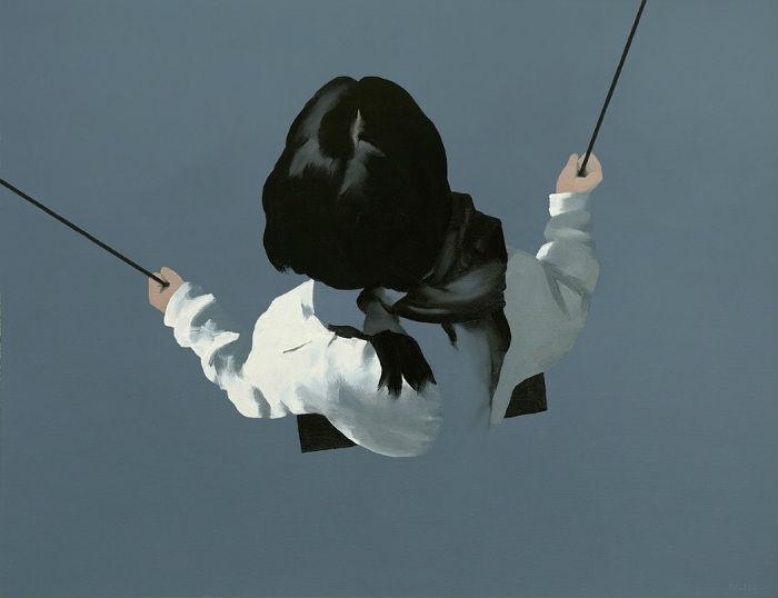 Картины польского художника Ярека Пучеля (Jarek Puczel) лишены мелких деталей