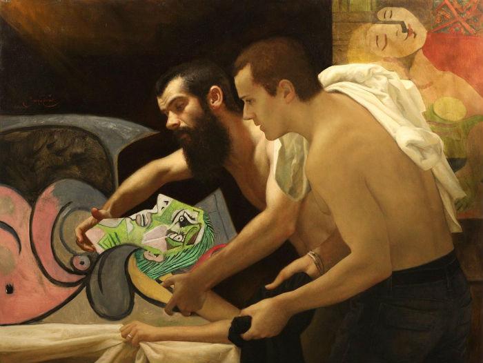 Restorers. Проект американского художника Сезара Сантоса