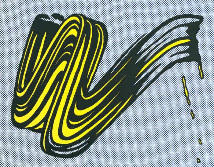 Brushstroke. Работа Роя Лихтенштейна, 1965