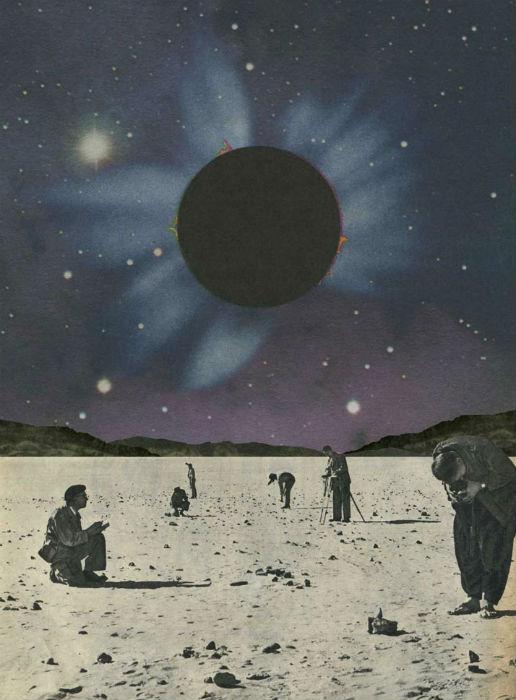 """Одна из работ талантливого бельгийского иллюстратора - """"Eclipse"""""""