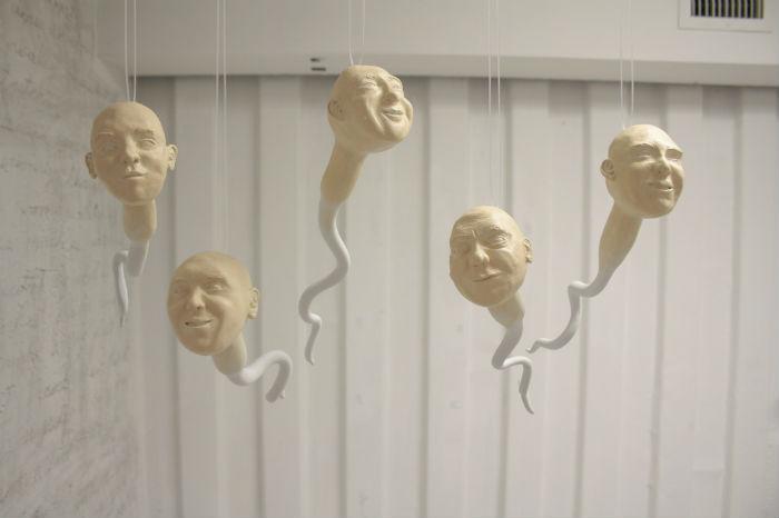 Нескромное искусство Женевьев Сантер