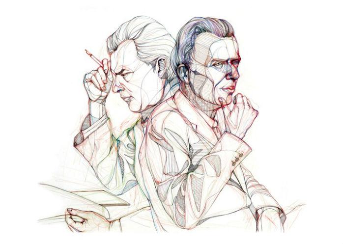 Олдос Хаксли в иллюстрациях английской художницы