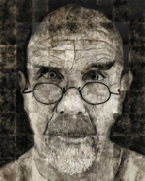Часто произведения Спазука состоят из небольших фрагментов, подобно мозаике