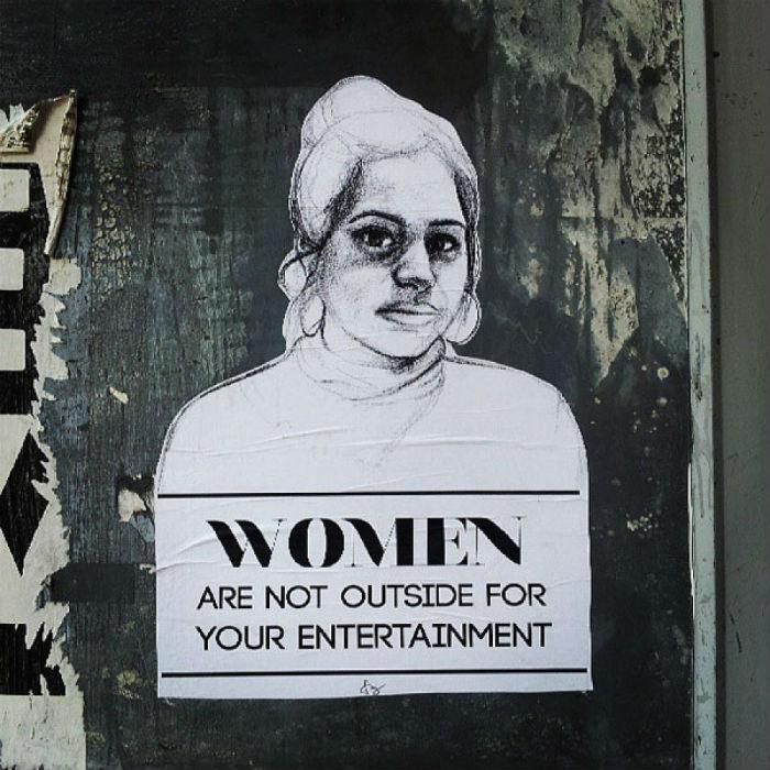 Проект Татьяны Фазлализадех Stop Telling Women to Smile