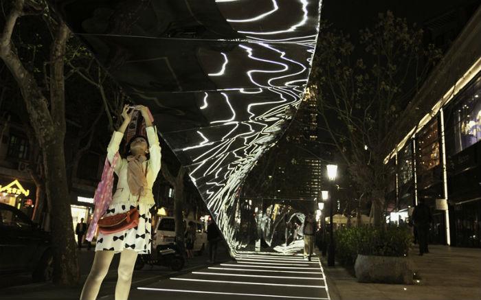 Нидерландский тандем представил в Шанхае новую пространственную композицию