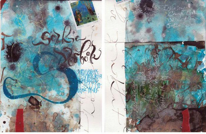 «Искусство красивого письма»: современная каллиграфия от художницы из Франции
