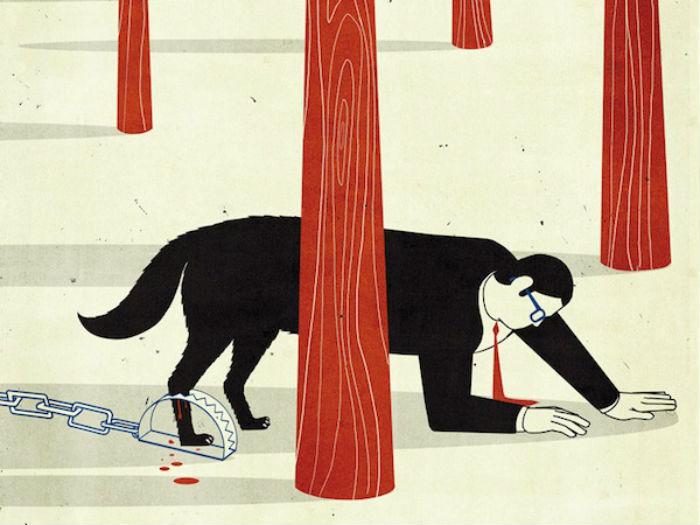 Минималистичные иллюстрации художника Алессандро Готтардо
