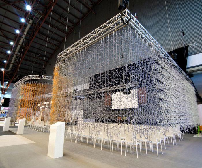 Павильон на фестивале дизайна London Design Festival
