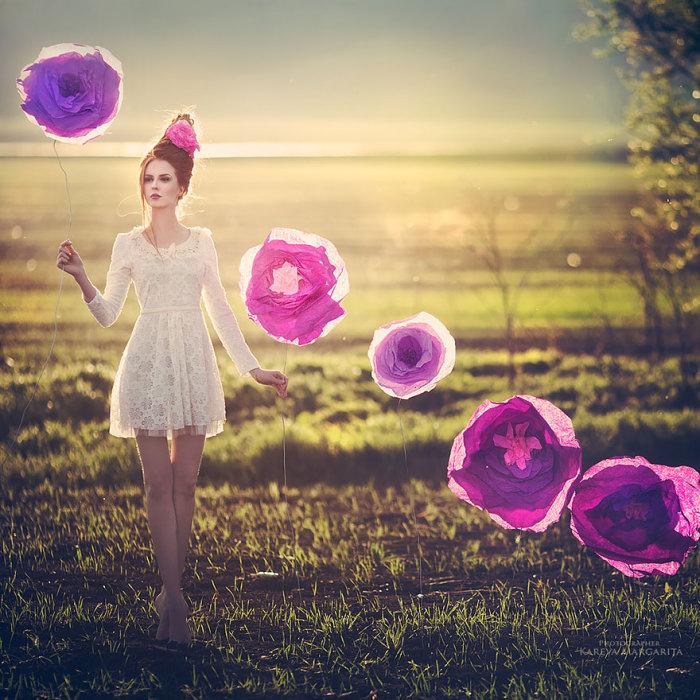 Фантазийные образы от Маргариты Каревой
