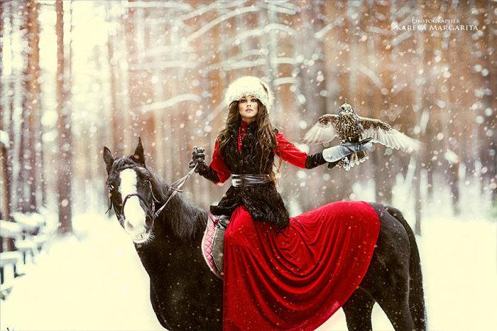 Яркие модели Маргариты Каревой