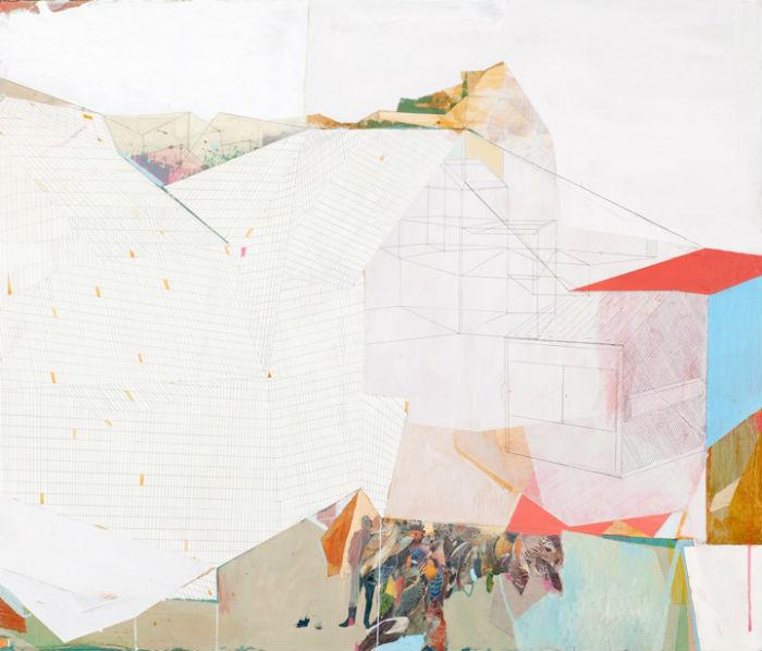 Сам художник говорит, что его работы являются «отражением постоянно меняющихся взаимоотношений между миром природы и миром человека»