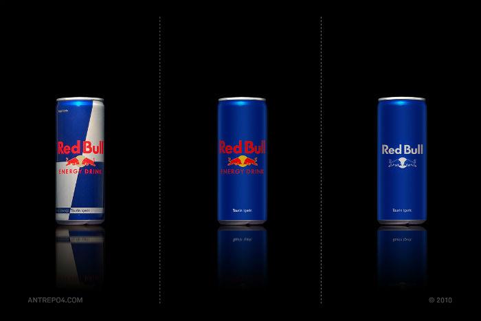 Энергетический напиток RedBull: три варианта упаковки