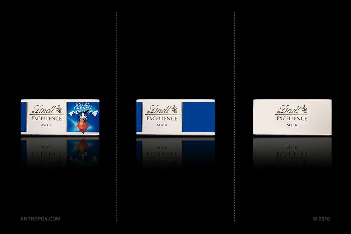 Швейцарский шоколад Lindt: три варианта упаковки