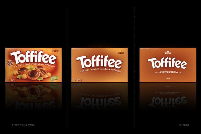 Шоколадные конфеты Toffifee: три варианта упаковки