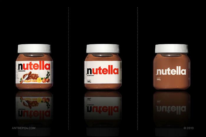 Шоколадная паста Nutella: три варианта упаковки