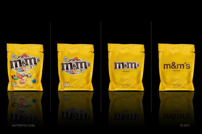 Шоколадное драже M&M's: четыре варианта упаковки