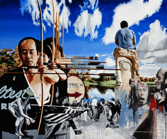 Американский художник Адам Колдуэлл – любитель сложных образов и неоднозначных трактовок