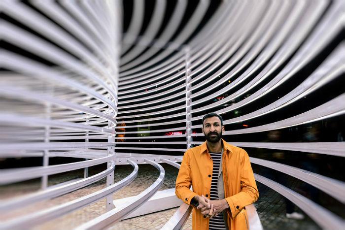 Архитектор Асаф Хан, автор мельбурнской инсталляции