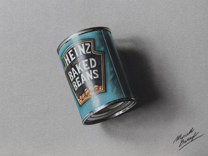 Удивительный гиперреализм в работах миланского художника из Милана
