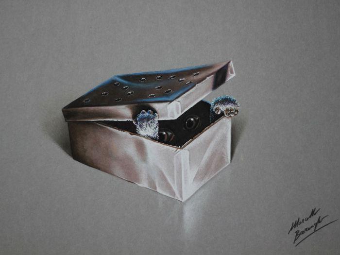 Трёхмерная реальность в иллюстрациях миланского художника