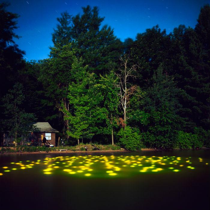 Вдохновленные лэнд-артом, ландшафтной фотографией, живописью и кино, снимки Андервуда обладают невероятной гипнотической силой