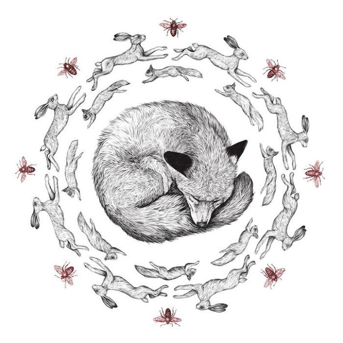 Сложные, детализированные рисунки Эми Доувер