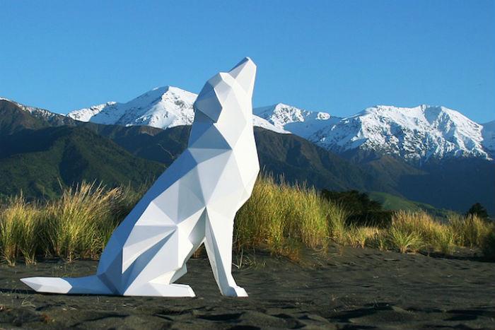 Скульптуры художника из Новой Зеландии
