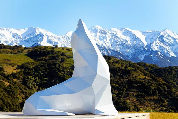 Работы новозеландского скульптора Бена Фостера