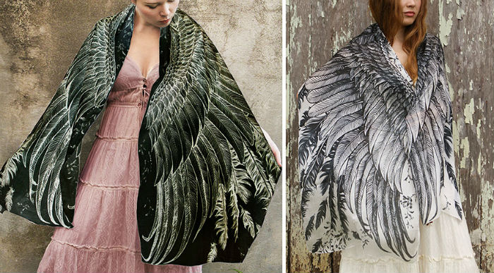 Раскинь крылья: удивительные платки от Розы Хамитовой