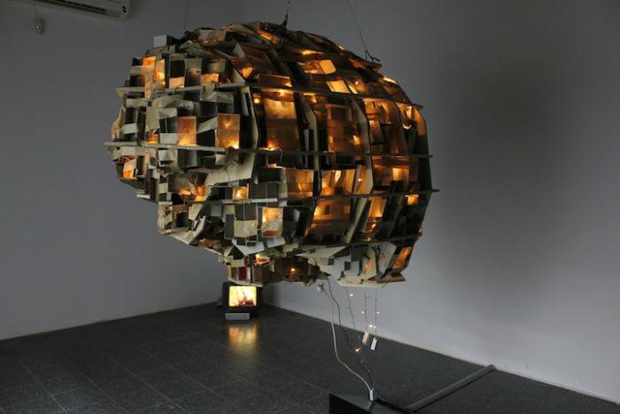«The brain/city project» — новый любопытный проект Ярона Штейнберга