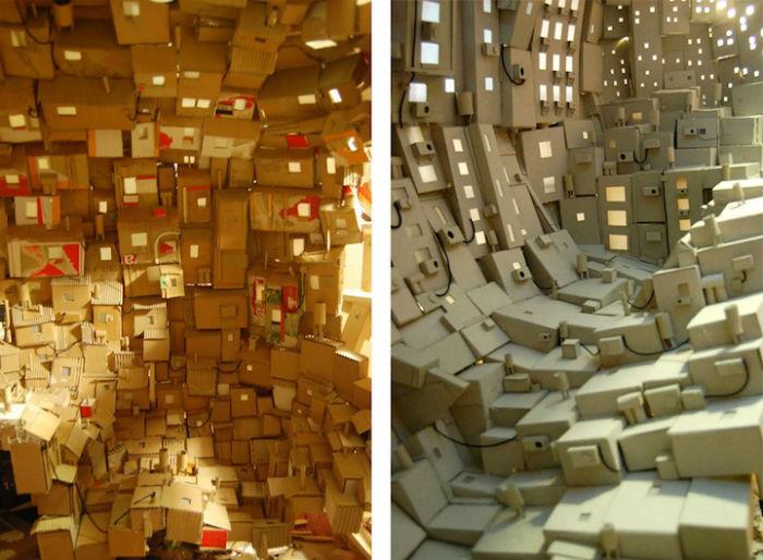 Инсталляция - своеобразное воплощение личных представлений автора о «внутреннем мире»