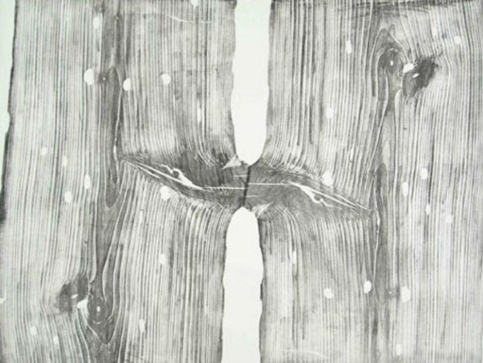 Корни таланта: удивительные картины-оттиски с поперечного среза дерева