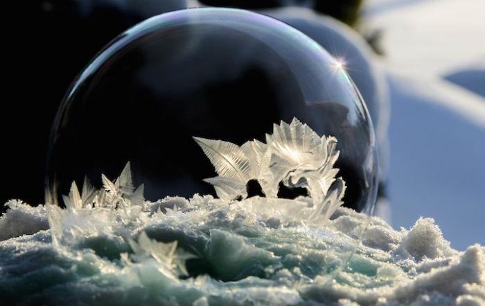Хоуп Картер проводит удивительные фотосессии с мыльными пузырями